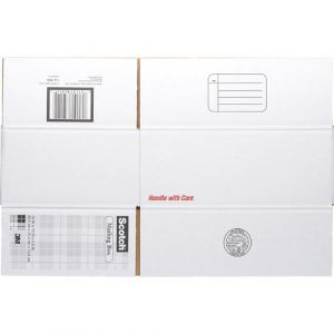 """3M Mailing Box, Size C, Labels Included, 14"""" x 10"""" x"""