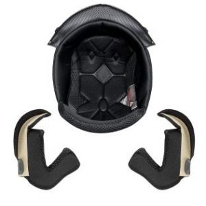 AHR Replacement Top Liner and Cheek Pads Kit for Run-F Size L