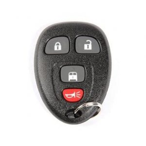 Acdelco gm genuine parts 20877108 4 button keyless entry remote key fob