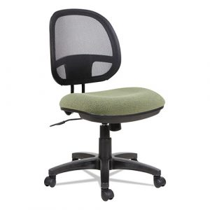 Alera Interval Series Swivel/Tilt Mesh Chair, Supports up to 275 lbs,