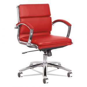 Alera Neratoli Low-Back Slim Profile Chair, Supports up to 275 lbs.,