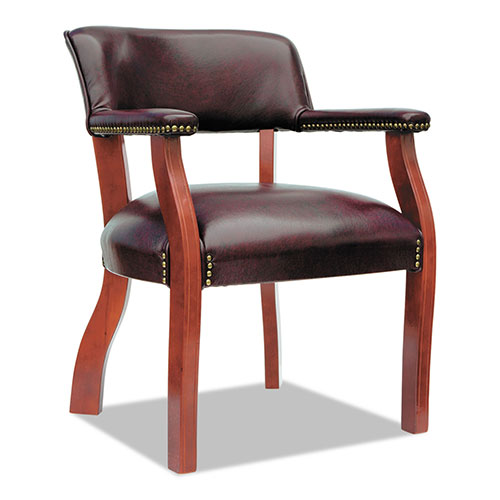 """Alera Traditional Series Guest Arm Chair, 24"""" x 24.5"""" x 29.5"""","""
