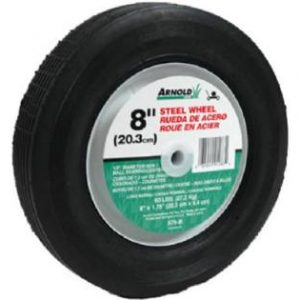 Arnold 490-322-0005 8 in. Steel Universal Replacement Lawn Mower Wheel