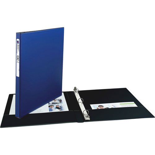"""Avery 42% Recycled Economy Round Ring Reference Binder, 1/2"""""""