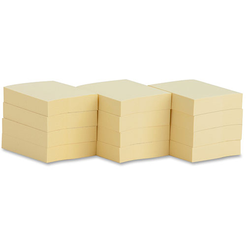 """Business Source Adhesive Notes, 100 Sheets, 1-1/2"""" x 2"""","""