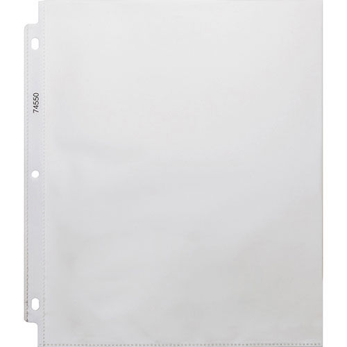 Business Source Heavy Weight Sheet Protector, Clear