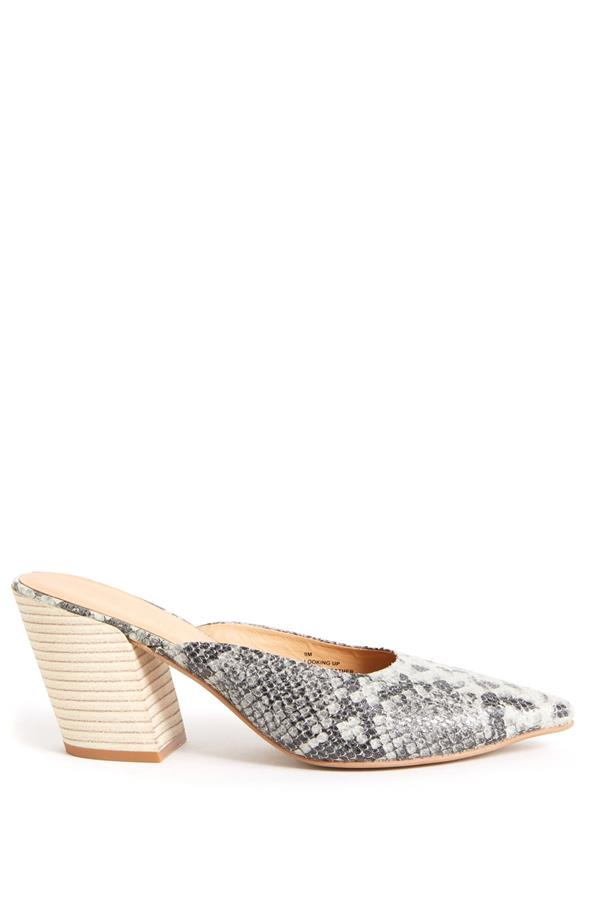 Coconuts By Matisse Women's Looking Up Snake Mule Shoes