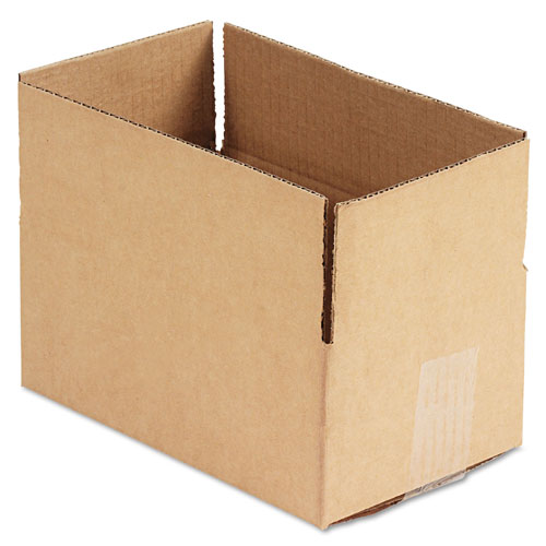 """GEN Fixed-Depth Shipping Boxes, Regular Slotted Container (RSC), 10"""""""