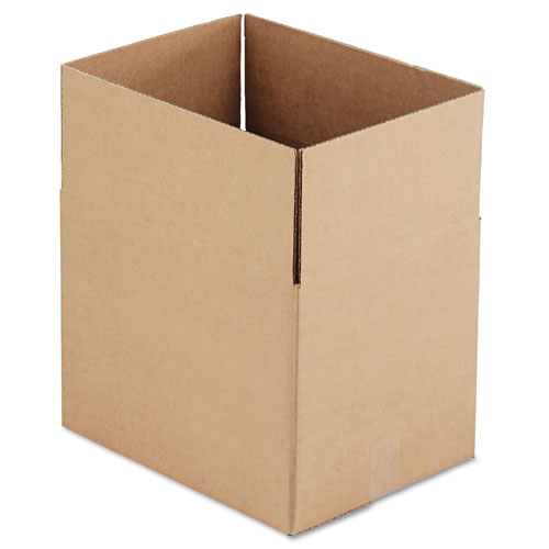 """GEN Fixed-Depth Shipping Boxes, Regular Slotted Container (RSC), 16"""""""