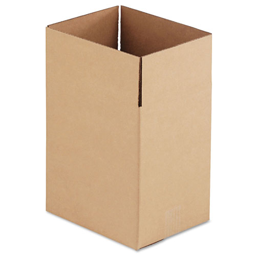 GEN Fixed-Depth Shipping Boxes, Regular Slotted Container (RSC),
