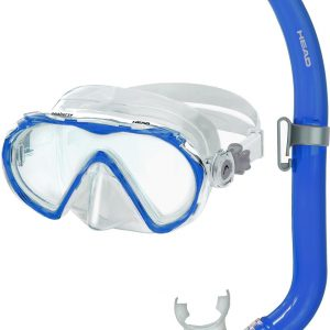 Head Youth Seahorse/Pirate Snorkeling Combo, Kids, Blue
