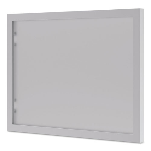 Hon BL Series Hutch Doors, Glass, 13.25w x 17.38h, Silver/Frosted