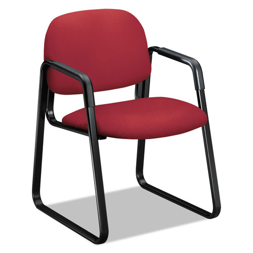 """Hon Solutions Seating 4000 Series Sled Base Guest Chair, 23.5"""" x 26"""""""