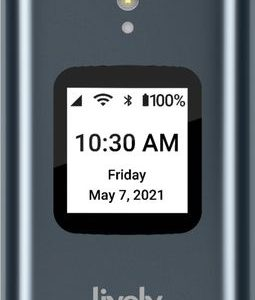 Lively™ - Lively Flip Cell Phone for Seniors - From the makers of Jitterbug - Gray