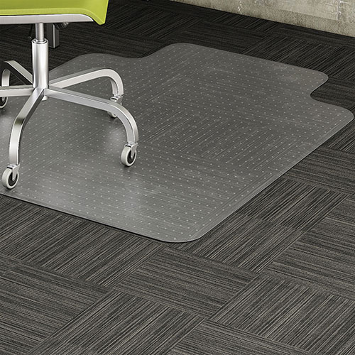 """Lorell Chair Mat, Low Pile, 36""""x48"""", Clear"""