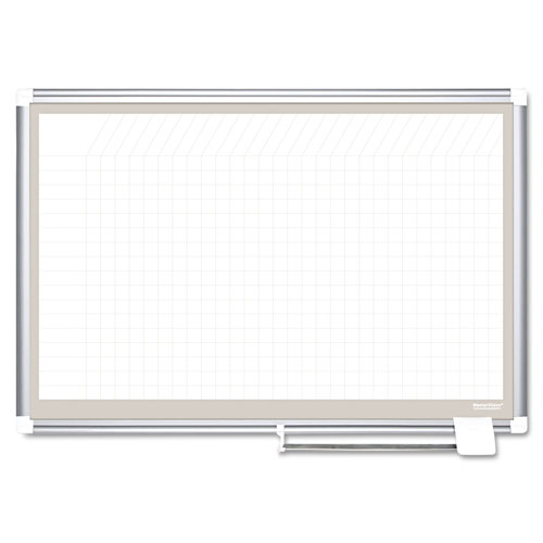 MasterVision™ All Purpose Porcelain Dry Erase Planning Board, 1
