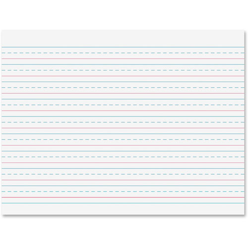 """Pacon Handwriting Tablet, 1/2"""" Ruled, 8"""" x 10-1/2"""", 40 Sheets"""