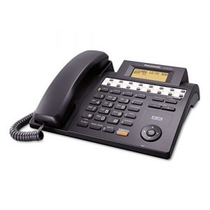 Panasonic KX-TS4100B Integrated Phone System, Corded, Four Lines,