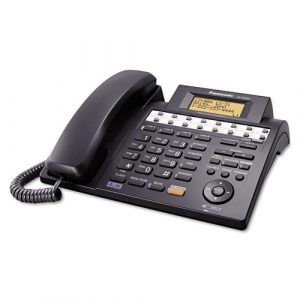 Panasonic KX-TS4300B Integrated Phone System, Corded, Four Lines,