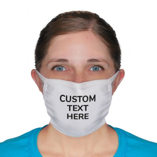 Personalized 3-Layer Washable Face Masks