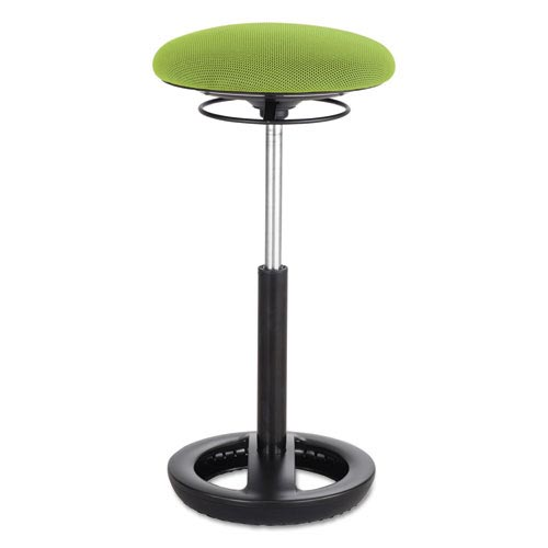 """Safco Twixt Extended-Height Ergonomic Chair, 32"""" High, Green Fabric"""