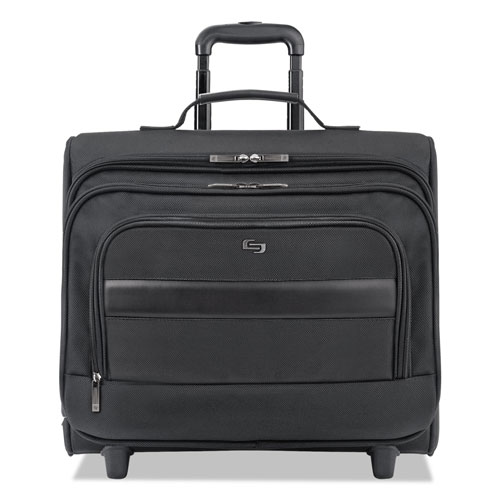 """Solo Classic Rolling Overnighter Case, 15.6"""", 16 7/50"""" x 6 69/100"""" x"""