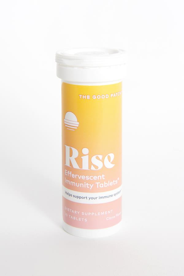 The Good Patch Citrus Rise Immunity Tablets
