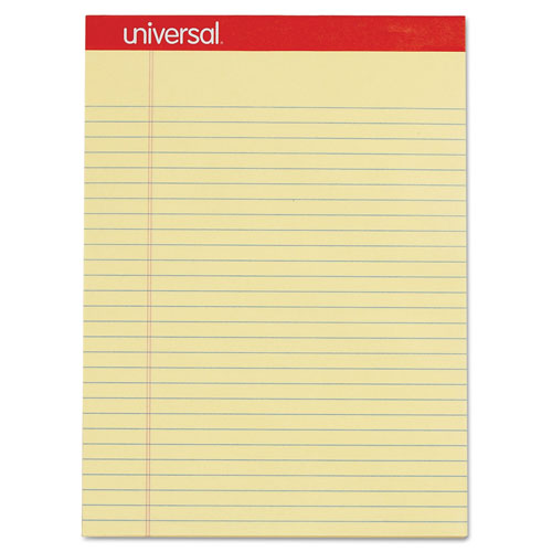 Universal Office Products Perforated Writing Pads, Wide/Legal Rule,