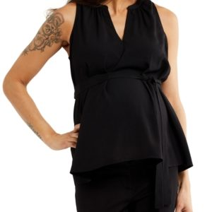 A Pea in the Pod Pleated Maternity Top