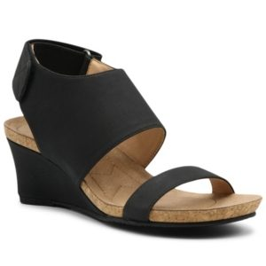 Adrienne Vittadini Women's Toby Wedge Sandals Women's Shoes