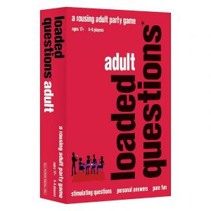 Adult Loaded Questions: A Rousing Adult Party Game by All Things Equal, Multicolor