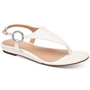 Alfani Women's Hayyden Hooded Thong Sandals, Created for Macy's Women's Shoes