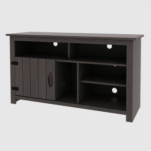 """Alta Console TV Stand for TVs up to 55"""" Gray - RST Brands"""