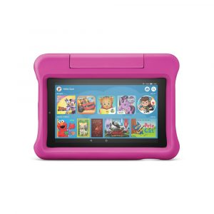 Amazon Fire 7 Kids Edition Tablet 7; Display (9th Generation, 2019 Release) - Pink - 16GB