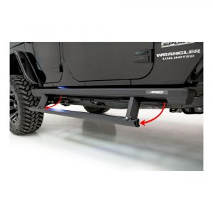 """Aries ActionTrac 65"""" Powered Running Boards (No Brackets)"""
