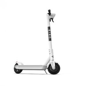 Bird - One Electric Scooter w/25 mi Max Operating Range & 18 mph Max Speed & w/built-in GPS Technology - Dove White