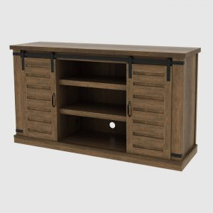 """Brighton Console TV Stand for TVs up to 56"""" Brown - RST Brands"""