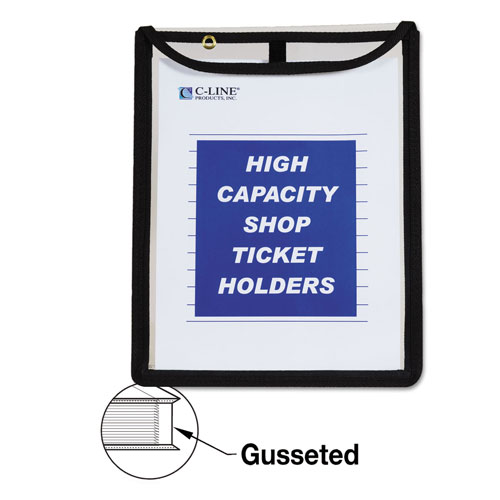 C-Line High Capacity, Shop Ticket Holders, Stitched, 150 Sheets, 9 x