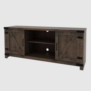 """Cache Console TV Stand for TVs up to 60"""" Dark Oak - RST Brands"""