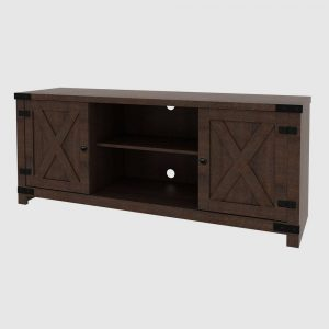 """Claret Console TV Stand for TVs up to 64"""" Brown - RST Brands"""