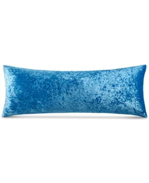 """Closeout! Whim by Martha Stewart Collection Crushed Velvet 54"""" x 20"""" Body Pillow, Created for Macy's Bedding"""