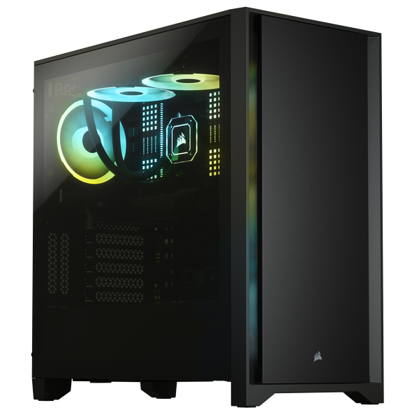 Corsair 4000D Tempered Glass Mid-Tower ATX Case - Black