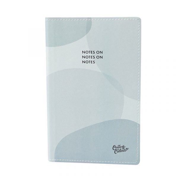 Create & Cultivate Color Block In Style Notebook, Blue