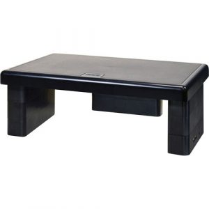 """Data Accessories Corp USB Monitor Stand, 10-1/2"""" x 4-3/4"""" x 13"""","""