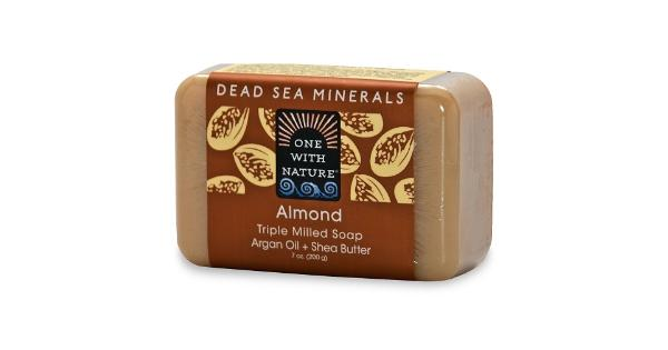 One With Nature Almond Soap Bar - 7 oz