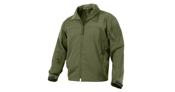Rothco Covert Ops Light Weight Soft Shell Jacket, Olive Drab