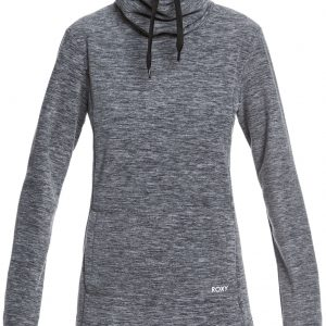 Roxy Women's Snow Flakes Vibes Fleece Pullover, Small, Anthracite