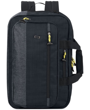 Solo Velocity Hybrid Backpack/Briefcase