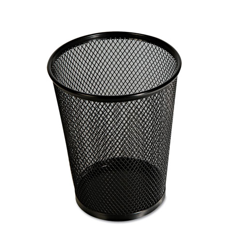 Universal Office Products Jumbo Mesh Pencil Cup, Black