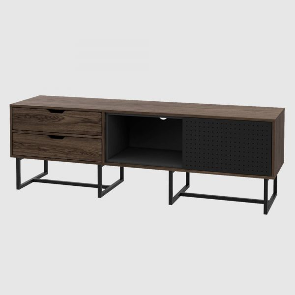 """Vernal TV Stand for TVs up to 70"""" Walnut - RST Brands"""
